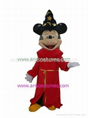 mickey mouse mascot costume Cartoon Characters