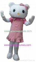 Hello Kitty mascot costume party costumes