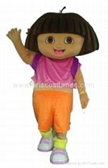 dora mascot party costumes cartoon wear costumes