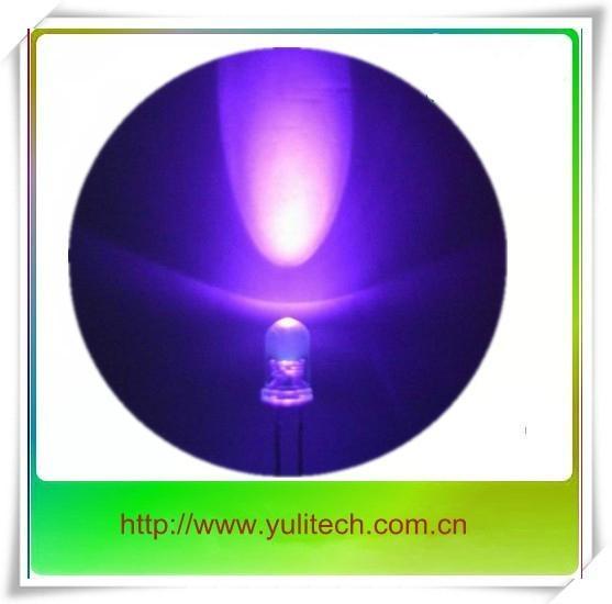 365nm 小功率紫外LED 誘虫 熒光粉 金屬粉檢測 1