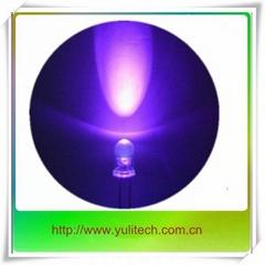 5MM 小功率375nm 紫外發光二極管