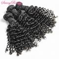100% Indian Virgin Remy Human Hair Weaving Bundles Factory Wholesale Hairs
