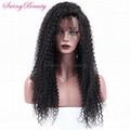 Permium Full Lace Natural Virgin Human Hair Wigs Wholesale Cheap Price