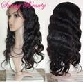 Permium Full Lace Natural Virgin Human Hair Wigs Wholesale Cheap Price   5