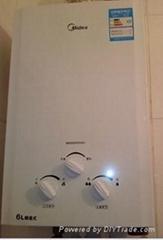 美的燃气热水器JSQ12-6QF1