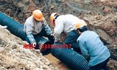 HDPE双壁波纹管DN300 S2