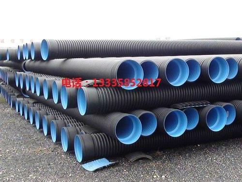 HDPE排污雙壁波紋管 1