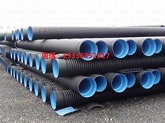 HDPE排污双壁波纹管