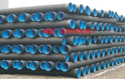HDPE排污雙壁波紋管 2