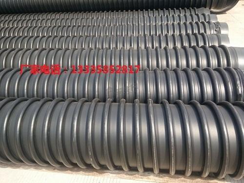 高密度聚乙烯hdpe纏繞結構壁管 1