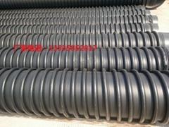 高密度聚乙烯hdpe缠绕结构壁管