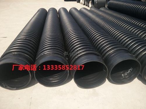 高密度聚乙烯hdpe纏繞結構壁管 2