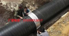 承插式HDPE缠绕结构壁管A型