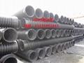 高密度聚乙烯HDPE纏繞增強結構壁管 2