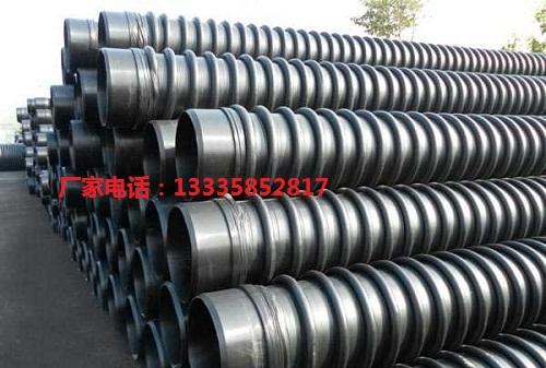 高密度聚乙烯HDPE纏繞增強結構壁管 3