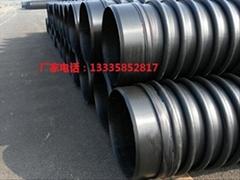 高密度聚乙烯HDPE缠绕增强结构壁管