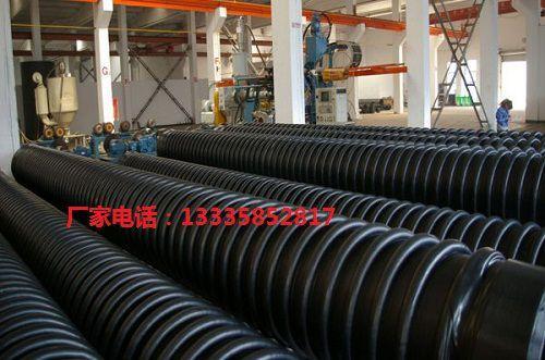 高密度聚乙烯HDPE纏繞增強結構壁管 4