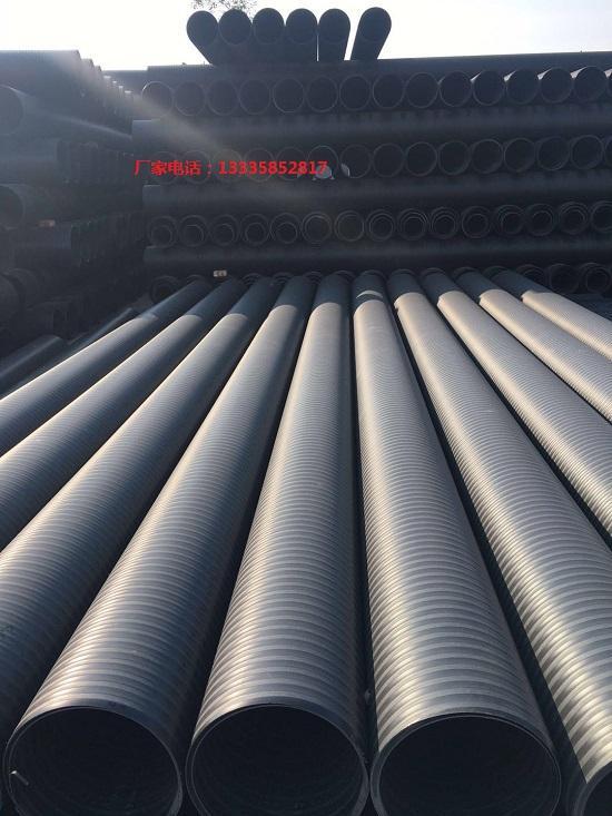 高密度聚乙烯HDPE纏繞增強結構壁管 5