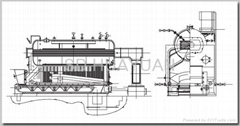 DZL series packaged steam and hot water boiler