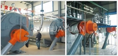 WNS&SZS series pulverized coal steam and hot water boiler