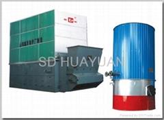 Organic heat transfer material heaters
