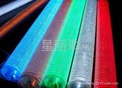LED单红绿兰黄白色护栏管