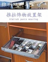 衣櫃高檔推拉飾物放置架8898A-6