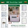 德国BMB拉手抽屉锁具
