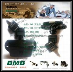 原裝BMB高衣櫃鎖具配件BMB天地櫃通鎖代理