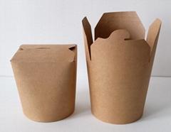 kraft paper noodle box