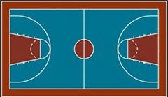 硬地丙烯酸籃球場