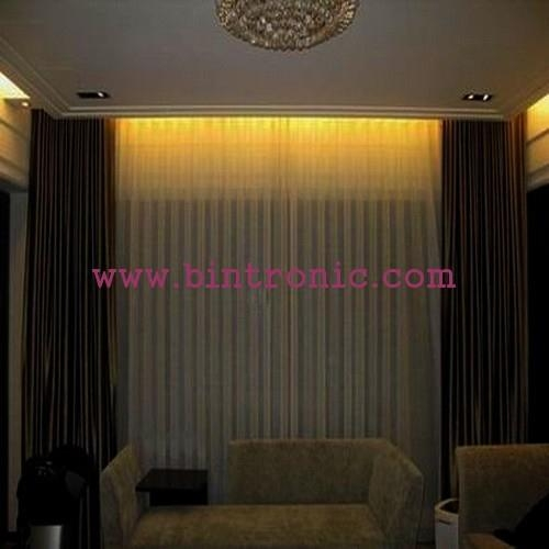 Bintronic Motorized Ripple Fold Curtain Tracks Bt Rft