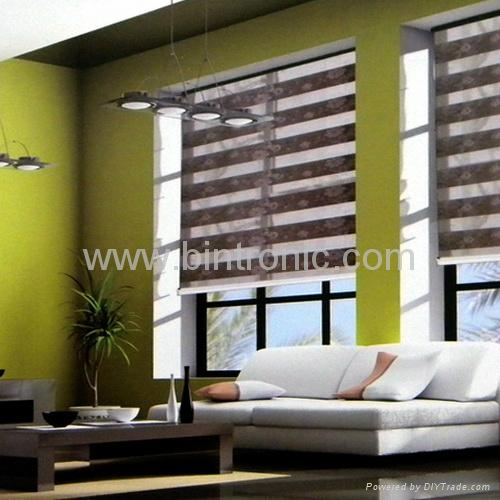 Bintronic Motorized Sheer Roller Blinds Bt Shb Taiwan