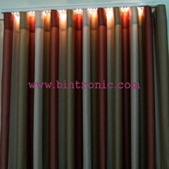 Bintronic Motorized Curtain Track with LED