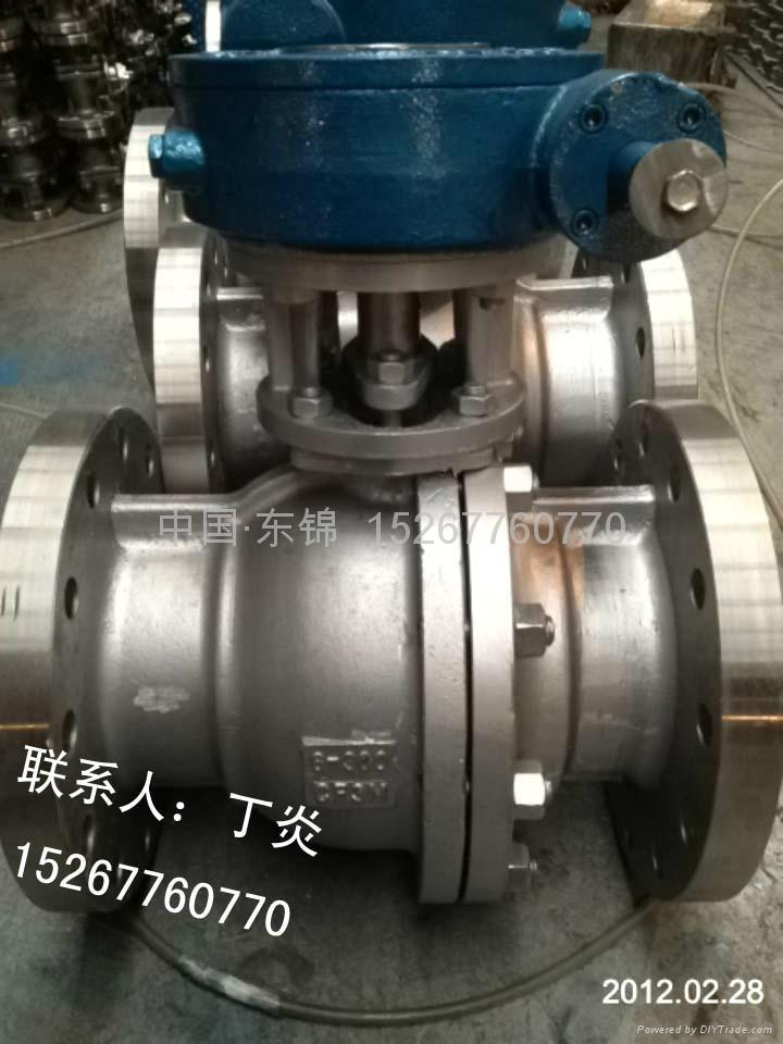 碳钢美标球阀 1