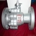 碳鋼法蘭球閥