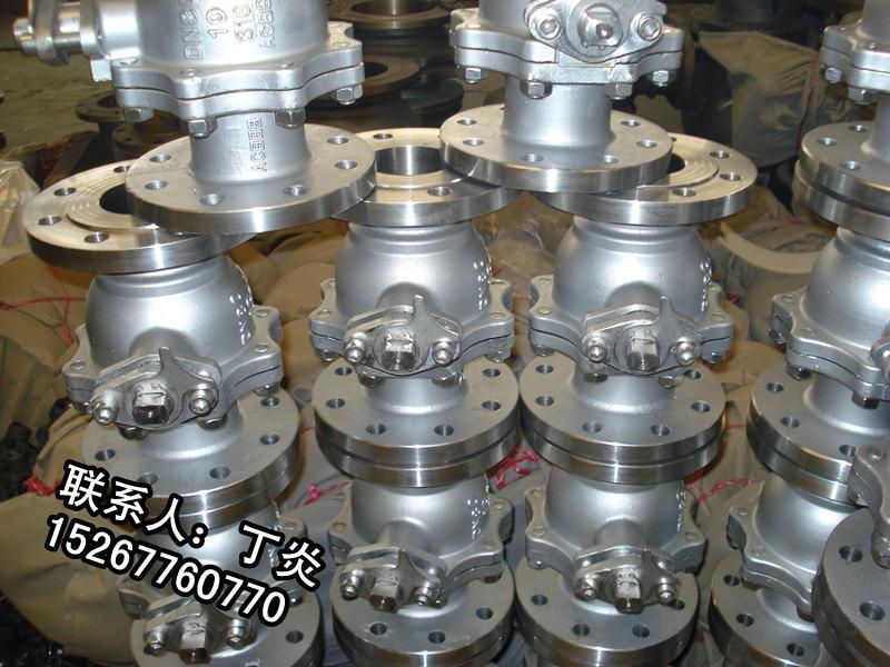 碳鋼法蘭球閥 2