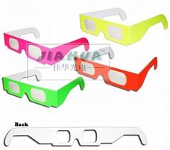 光分離3D眼鏡 煙火煙花眼鏡  鏡片