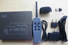E328B 摇控震动带静电训狗止吠器-充电型