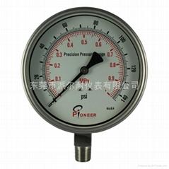 Stainless steel test pressure gauges