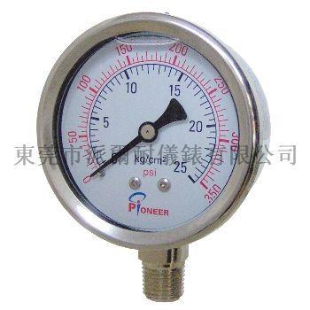 耐震壓力表 12