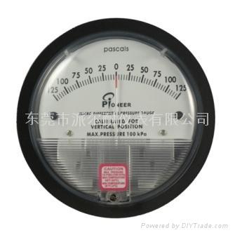 气体微差压表 4