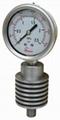 High temperature pressure gauge