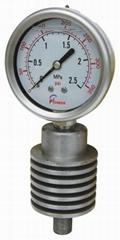 PIONEER牌63mm耐高温压力表