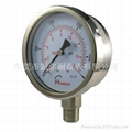 All stainless steel pressure gauge