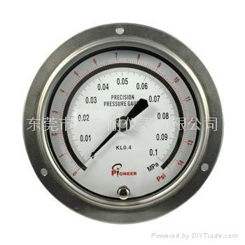 不锈钢精密压力表 2
