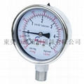 Stainless steel vacuum pressure gauges
