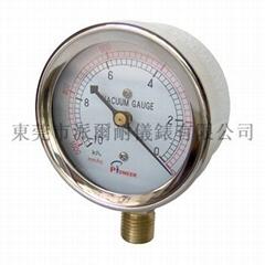 Vacuum gauges with capsule elements