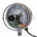 100mm不锈钢电接点压力表