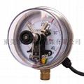 100mm不锈钢电接点压力表 2
